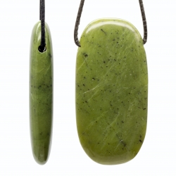Nephrite Pendant Rectangled 60x31mm