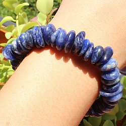 Sodalite bracelet free Button 10-12mm