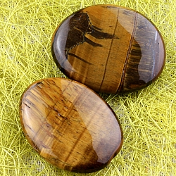 Tiger Eye Flat Handstones A 35x30mm