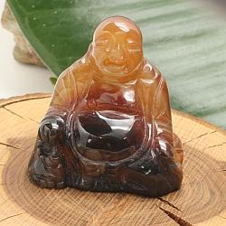 Karneol Buddha 004  ca. 50x30mm