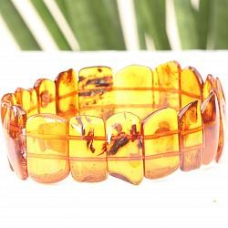 Bernstein Armband cognac 20mm Bernsteinperlen