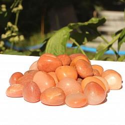 Aventurin Orange Trommelsteine 1kg Natur