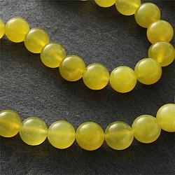 Gemstone-Beads, Korea Jade, 6mm Loose Beads