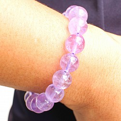 Amethyst Balls Bracelet 10mm
