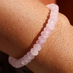 Rose Quartz Gemstone Bracelet 6mm A