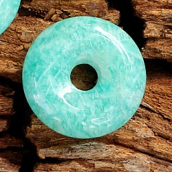 Amazonit Donut AA Anhänger 20mm