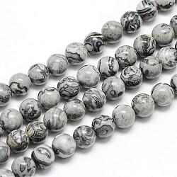 Picasso Jaspis Perlen Crazy Achat 10mm/39cm Perlenstrang