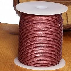 Cotton Cord 1.5mm 50 Meter copper