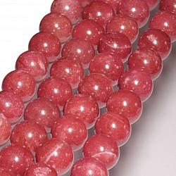 Thulit Perlen 10mm AAA Qualität 40cm Perlen Strang.