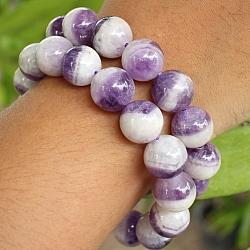 Amethyst Balls Bracelet 12mm