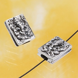 Silberperlen Ganesha Sterling Silber 925 10x7mm