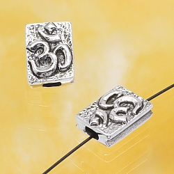 Silber Perle Ohm Symbol Silber 925 10x7mm