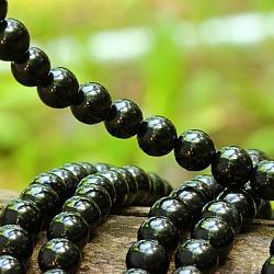 Turmalin Black Beads 10mm 40cm
