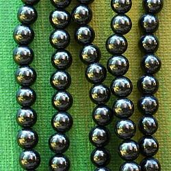 Turmalin Black Beads 6mm 40cm