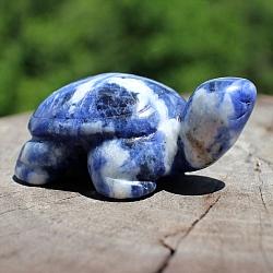Sodalith-Steinschildkröte