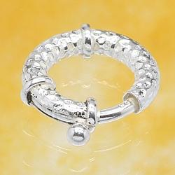 Silver 925 Spring Ring 16mm