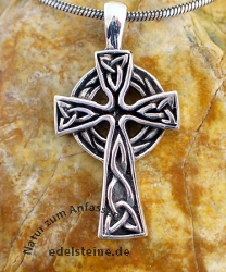 Keltisches Silberkreuz 21