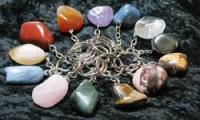 Tumbled stones keyholder Mix 25 Stk.