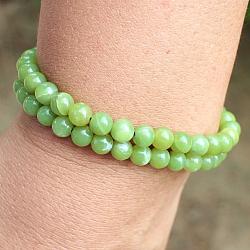Korea Stone Bracelet Round Beads 6 mm