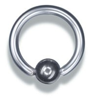 Piercing Ring Ball Closure Ring 1,0mm