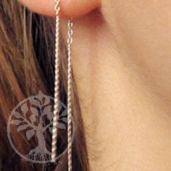 Silver Earrings SIOH3