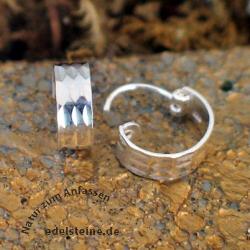 Silbercreolen 4 mm SICR7 Silberschmuck 925