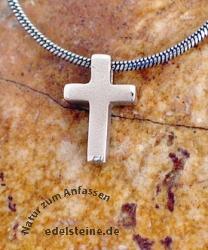 Silberkreuz Anhaenger klein SIKR25