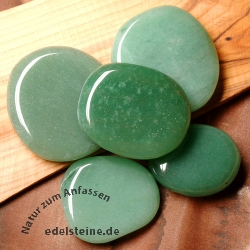 Aventurine soapstone flat stone 3 Pieces Green Flat Stones