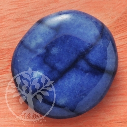 Blue-Quartz Handstone