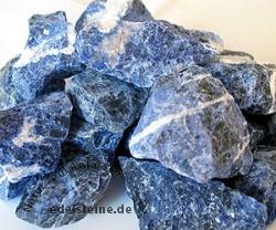 Sodalith zur Wasseraufbereitung 3kg Rohsteine