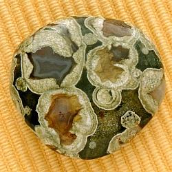 Rhyolit Stein flach Scheibenstein A 33-43mm Ø