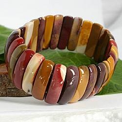 Mookait Edelstein Armband