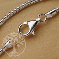 Schlangenkette Silberkette 925 42cm 1,2mm