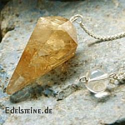 Goldtopas Pendel