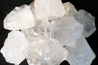 Bergkristall Brunnenschuettung 30kg