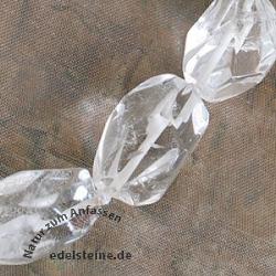 Bergkristall Nuggets-Halskette