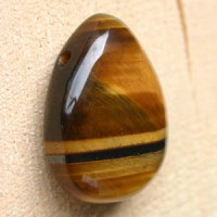 Tiger eye pendant A-quality