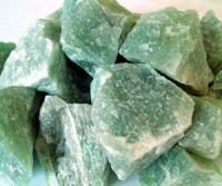 Aventurine cracked rough stones min3 kg