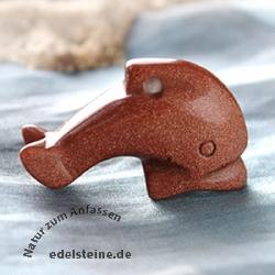 Delfin aus Goldfluss klein