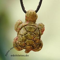 Unakit Schildkröten-Anhänger