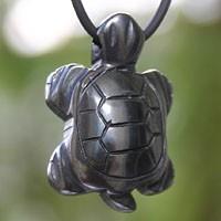 Hämatit Schildkröten-Anhänger