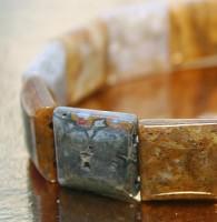 Ocean Jaspis Armband Quattro
