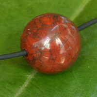 Red Jasper Ball Pendant