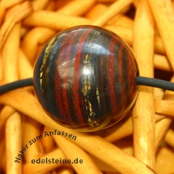 Tiger Eye Ball Pendant 15mm