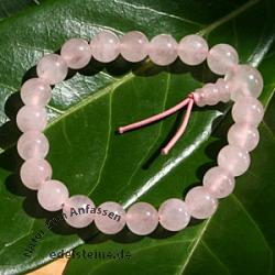 Rosenquarz Buddha-Beads