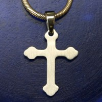 Stainless Steel Pendant Cross 3