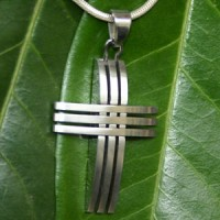 Stainless Steel Pendant Cross 4