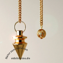 Pendulum goldencoloured 1