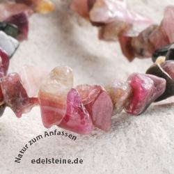 Rosa Turmalin Armband kleine Steinchen