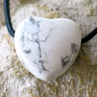 Magnesite Heart with hole
